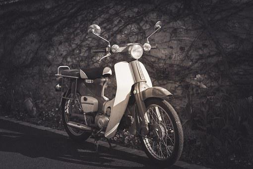 Motorcycle, Moto, Vintage, Old, Motorbike, Bike, Ride