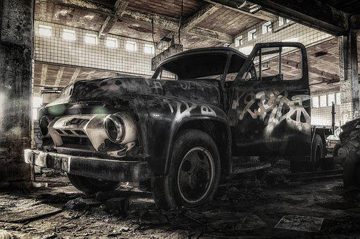 Truck, Ford, Oldtimer, Classic, Transport, American