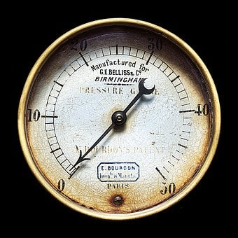Gauge, Pressure, Measure, Steampunk, Instrument