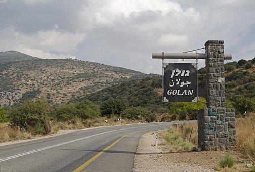 Israel, Golan, Landscape, Highway, Scenic, Mountain