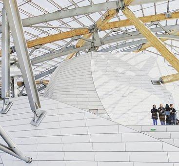 Modern, Architecture, The Fondation Louis Vuitton