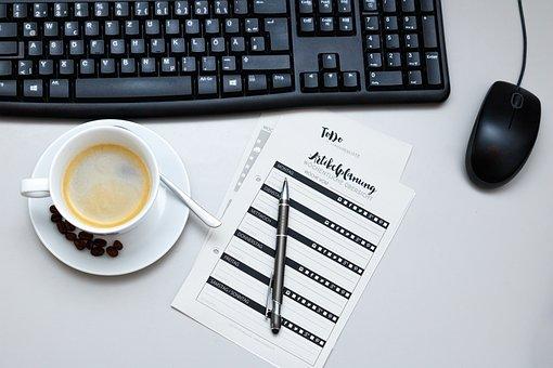 Coffee, Computer, Internet, Digital, Workplace, Break