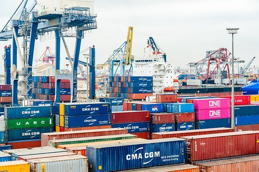 Port, Container, Export, Cargo, Logistics, Shipping