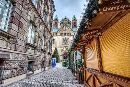 Christmas Market, Dom, Speyer, Christmas Time