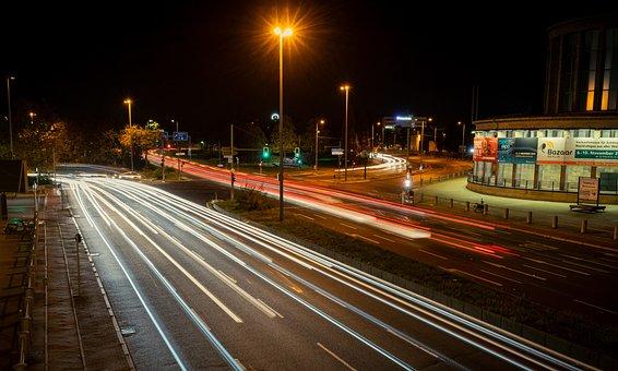 Night Photograph, Long Exposure, Night, Evening, Dark