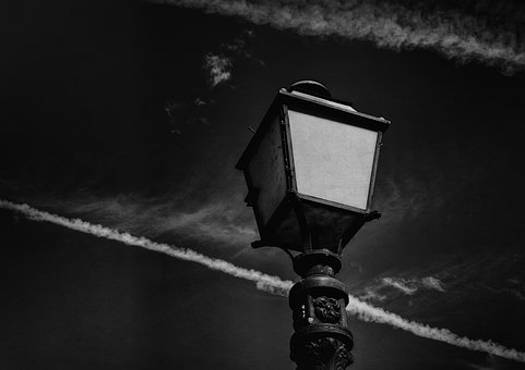 Lantern, Lamp, Monochrome, Gothic, Vintage, Horror