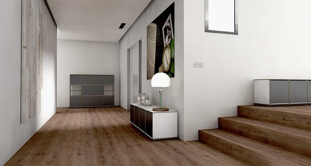 Floor, Gang, Gube, System, Entrance Hall, Lichtraum