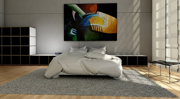 Lifestyle, Bedroom, Gube, System, Design, Painting