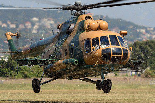 Helicopter, Mi-17, Army, Flight