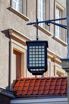 Lamp, Lantern, Night, Style, Epoch, Building