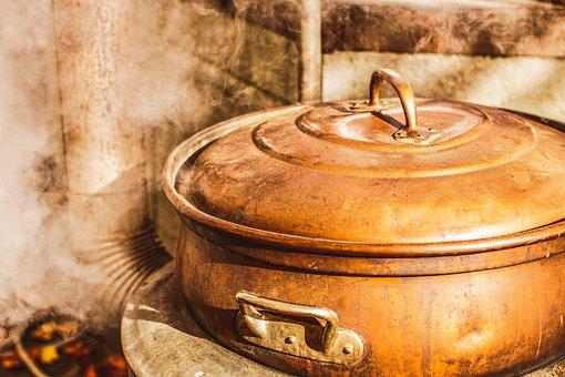 Water Boiler, Hot Water Heater, Outdoor, Fire, Heiss