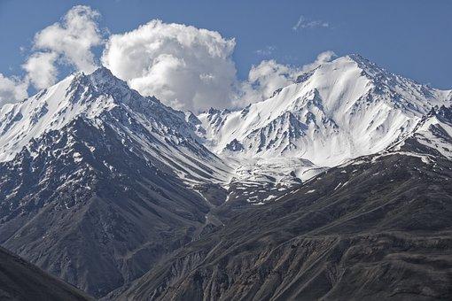 Afghanistan, The Pamir Mountains, Pamir, Mountains