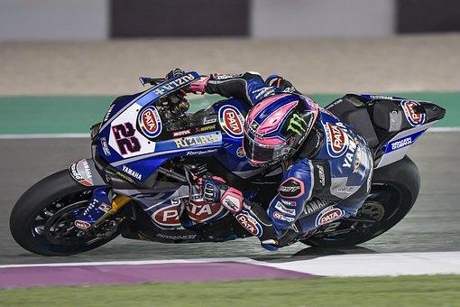 Wsbk, Qatar, Race, Motorbike, Speed, Fast, Motion