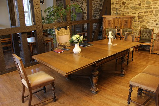Registry Office, Wedding, Maid Room, Table, Chair