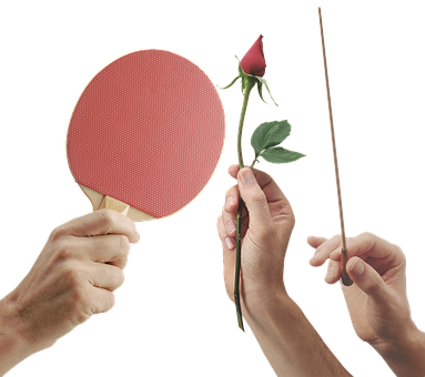 Hands, Hand, Palm, Brush, Ping Pong, Table Tennis, Game