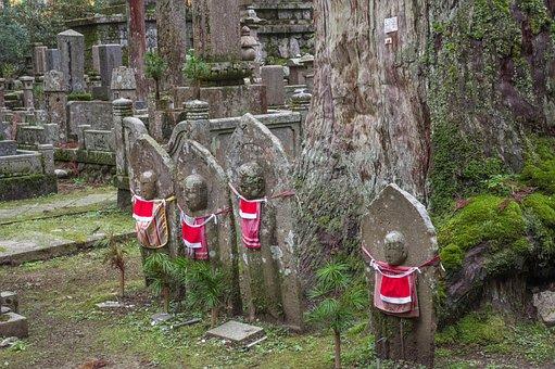 Japan, Koyasan, Buddhism, Cemetery, Religion