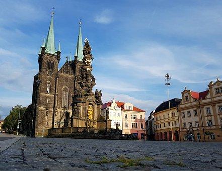Chrudim, Czech Republic, Architecture, Church, History