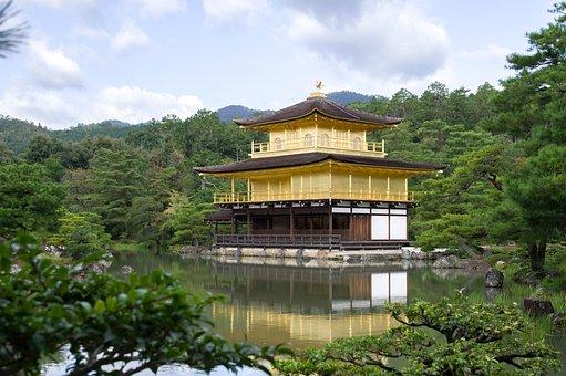 Japan, Kyoto, Temple, Buddhism