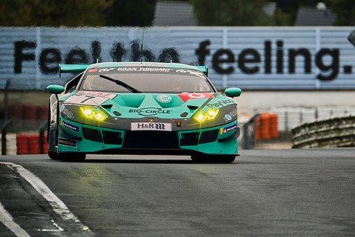 Motorsport, Racing Car, Lamborghini, Sport, Nürburgring