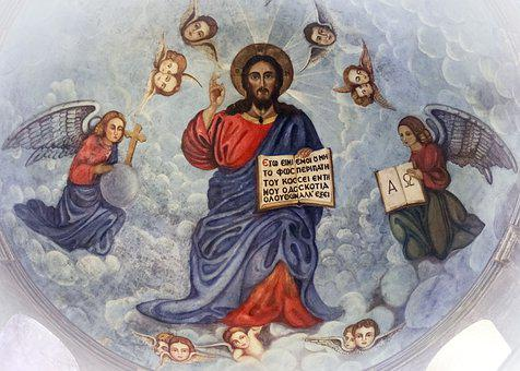 Pantocrator, Jesus Christ, Iconography, Painting