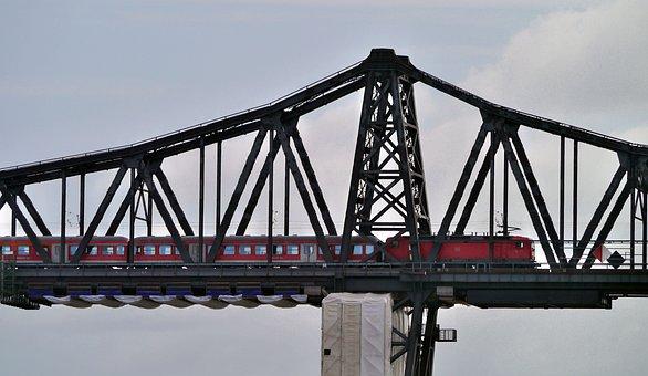 Railway Bridge, High Bridge, Rendsburg, North America