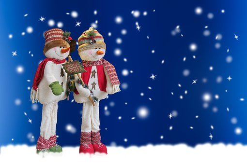 Background, Winter, Season, Snow, Snowman