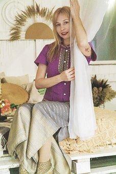 East, Asia, Thailand, Womens Thai Clothing