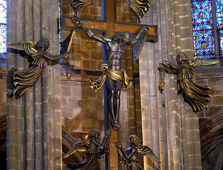 Barcelona, Spain, Catalonia, Catalan, Church, Cathedral