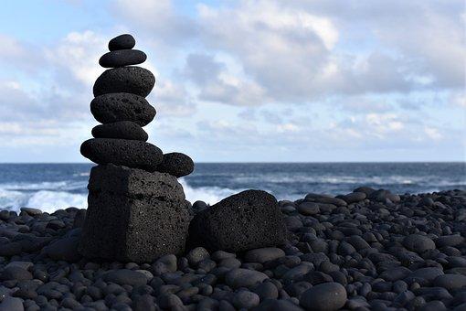 Sky, Sea, Iceland, Beautiful, Blue, Earth, Nature