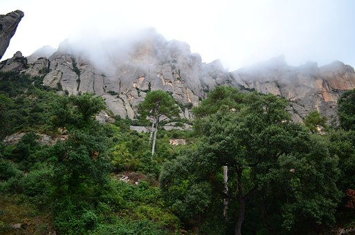 Landscape, Montserrat, Nice, Free For Commercial Use