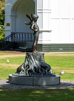 Statue, Fae, Fairy, Pagan, Pixie, Magic, Metal, Fantasy