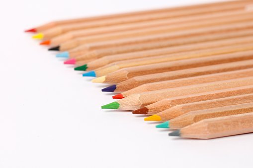 School, Pencil, Education, Writing, Rainbow, Drawing