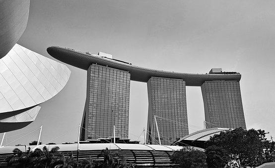 Marina Bay Sands, Singapore, Hotel, Architecture, Asia