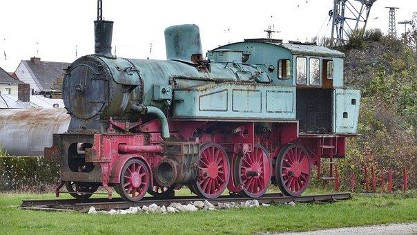 Steam Locomotive, Train, Railway, Nostalgia