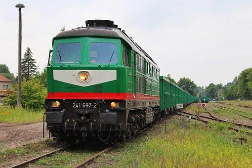 Freight Transport, Freight Train, Transport, Railway