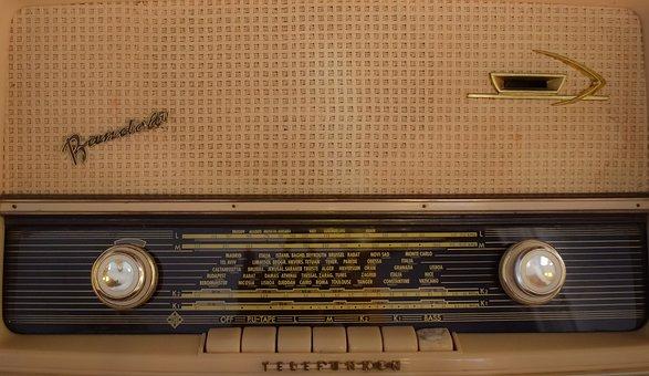 Radio, Old, Retro, Vintage, Nostalgia, History