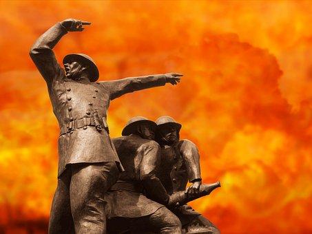 Fire, Fireman, Firefighter, Firefighting, War, London
