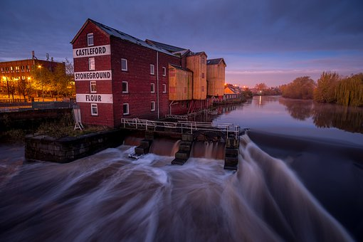 Queens Mill, Castleford, Allinson's Mill, River Aire