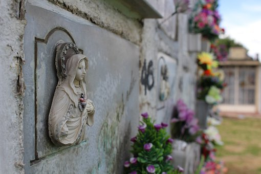 Cemetery, Tomb, Death, Chilling, Halloween, Stone