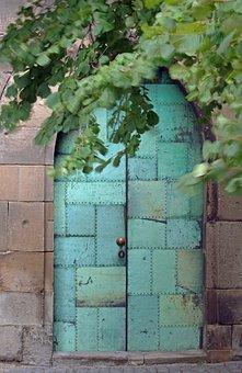 Door, Bow Door, Input, Masonry, Arch, Architecture