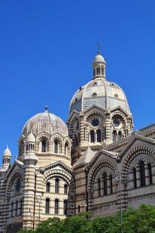 Marseille, France, Travel, Architecture, Mediterranean