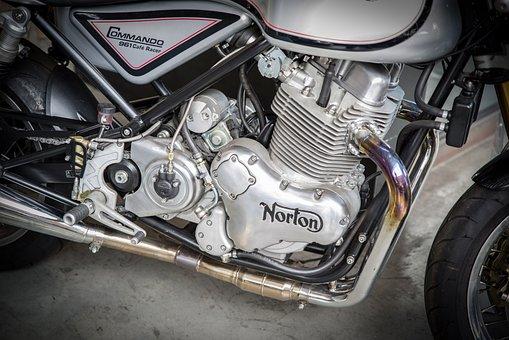 Norton, Motorcycle, Motorcycle Engine, Vehicle, Cult