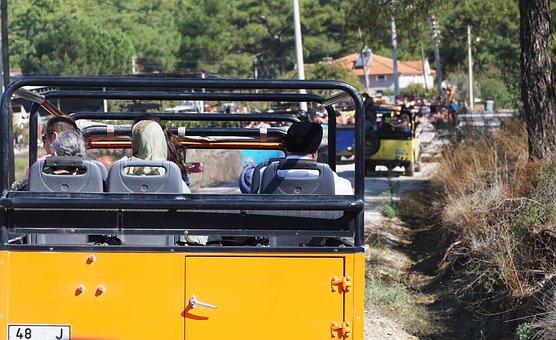 Jeep, Machine, Auto, Shipping, Journey, Turkey