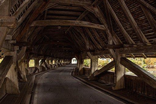 Bridge, Neubrücke, Neubrügg, Aare, Bremgarten