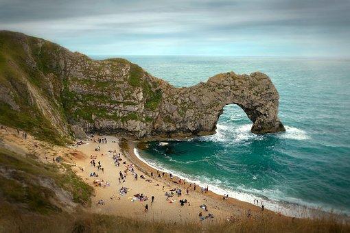 Jurassic, Coast, Durdle Door, Beach, Cliffs, Arch