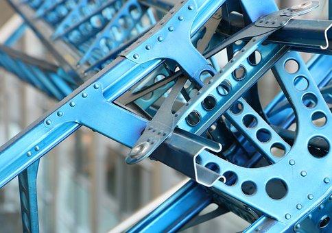 Construction, Aluminum, Structure, Frame, Rivet