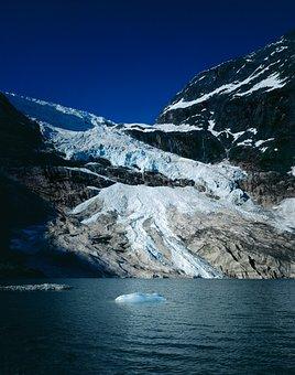 Glacier, Lake, Landscape, Mountains, Nature, Ice, Water