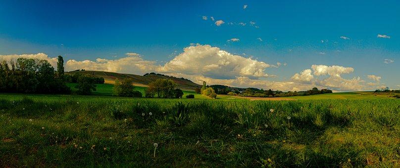 Spring, Landscape, Nature, Summer, Sky, Sunshine