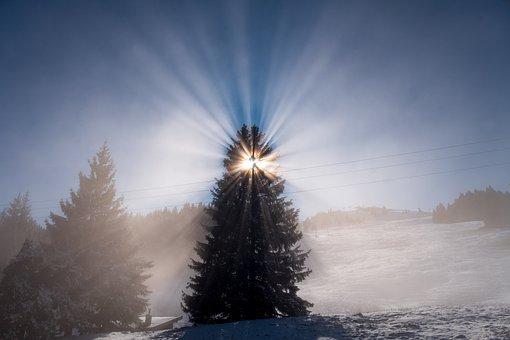 Sunbeam, Radiation, Rays, Ray Of Light, Sun, Sky