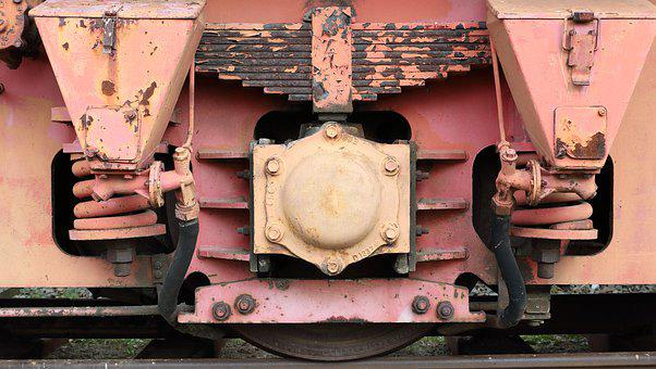 Train, Wheel, Axle, Shaft, Bearing, Spring, Surface